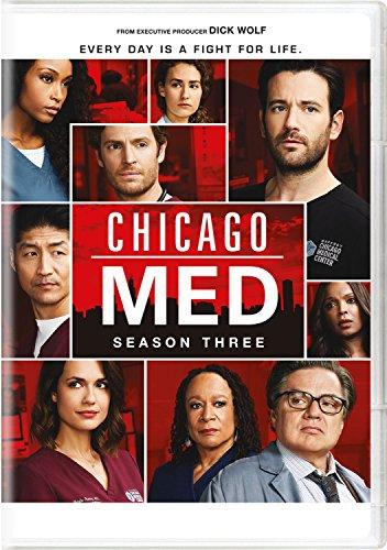 Chicago Med: Season Three (And 3 Season 4 Dvd Soap)