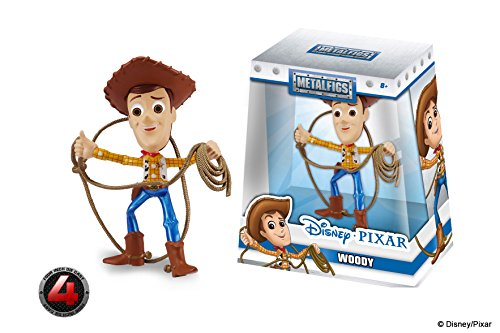 Metals 98346 Disney Pixar Toy Story Woody with Lasso Die Cast Collectible Toy Figure, 4