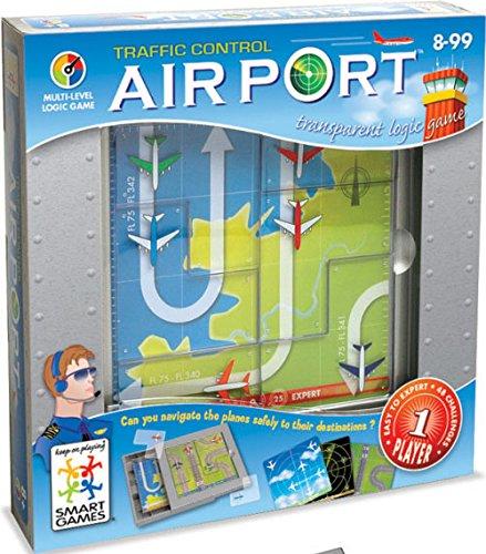 Smart Games - SG 202 - Jeu de plateau - Airport - Jeu De Réflexion Et De Logique