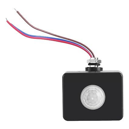 Conmutador de Interruptor de Pared Infrarrojo Sensor de Movimiento del interruptor de PIR al Aire Libre