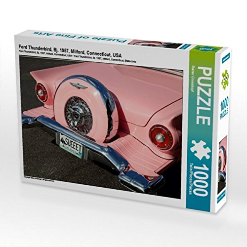 Ford Thunderbird, Bj. 1957, Milford, Connecticut, USA 1000 Teile Puzzle Quer