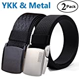 Fairwin Men's Nylon Tactical Web Belt - Military Style Casual Army Outdoors Belt …