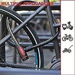 Master-Lock-8228EURDPROBLU-Lucchetto-Bici-Chiave-1-m-Cavo-Esterno-Ottimo-per-Proteggere-Bicicletta-Skateboard-Passeggino-Falciatore-Attrezzature-Sportive-Blu