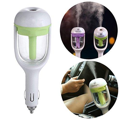 [해외]Yeworth 자동차 아로마 디퓨저 가습기, 미니 휴대용 여행 쿨 안개 자동차 공기 가습기 및 아로마 테라피 에센셜 오일 디퓨저/Yeworth Car Aroma Diffuser Humidifier, Mini Portable Travel Cool Mist Car Air Humidifier and Aromatherapy Essentia...