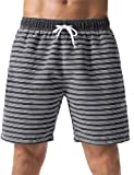Nonwe Men's Swimming Shorts Retro Soft Washed Drawsting Walk Short