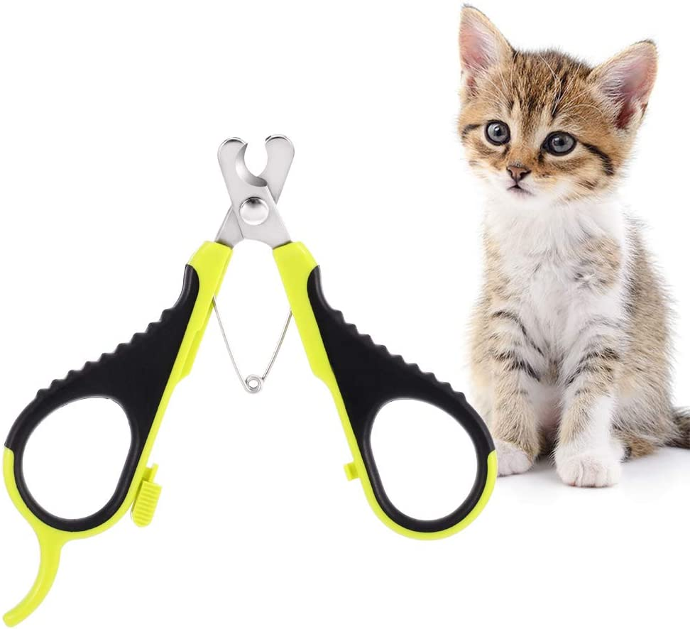 You&Lemon Cortaúñas Gato Profesional Tijeras de Garra de Acero Inoxidable para Mascota Recortador para Perros Conejos y Animales Pequeños