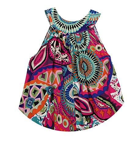 Baby Kids Girls Cute Lovely Sleeveless Girl Princess Dress,Flower Floral Party Tutu,Green,6