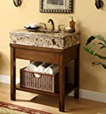 "29"" Cottage Style Darren Bathroom sink vanity cabinet Model # Q404BN"