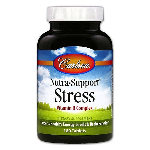 Carlson Laboratories - Nutra Support Stress 180 Tabs
