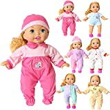 Pack of 6 Doll Clothes for 12-15 IN Baby Alive Doll