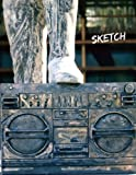 Sketch: Stoned Boom Box, 8.5 x 11 Large Sketch Book Journal, Blank Notebook Unlined, Paper for Drawing, Writing, Doodling, Sketching (Art Sketch Pad), 100 Durable Unruled Pages