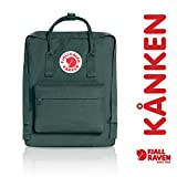 (US) Fjallraven - Kanken Classic Pack, Heritage and Responsibility Since 1960, One Size,Forest Green