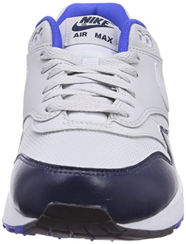 Max pure Pr Pltnm Hommes 1 Mid Air Blancs Platinum Baskets Nvy Essential Nike 5nZ0xvx