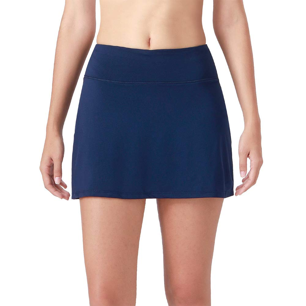 Toomett Womens Active Athletic Skorts Lightweight Quick Dry Skirt for Sports Running Tennis Golf Workout with Pockets,#8882,Blue,US S