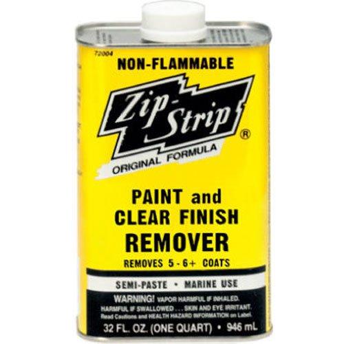 Strip Paint Remover (RECOCHEM 272004 Quart Zip Strip Remover)