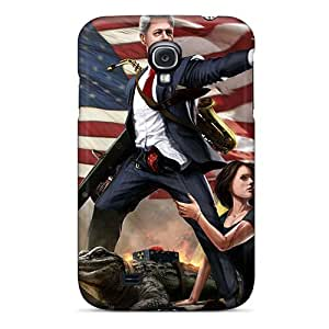 Faddish Phone United States Bill Clinton And Monica Lewinsky Case For Galaxy S4 / Perfect Case Cover by icecream design