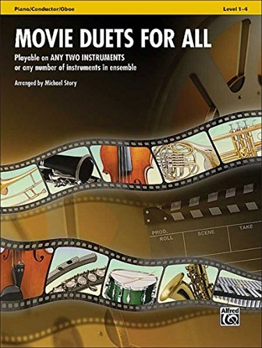 Movie Duets for All: Piano/Conductor, Oboe (Instrumental Ensembles for All)