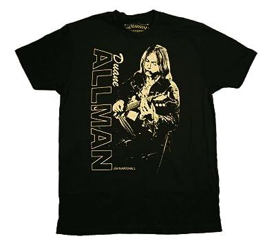 eb24abdf282 Amazon.com  Duane Allman Guitar Player T-Shirt  Clothing