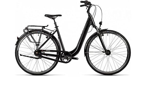 Cube Town Trekking Bike 2016, color - black glossy, tamaño 28 ...