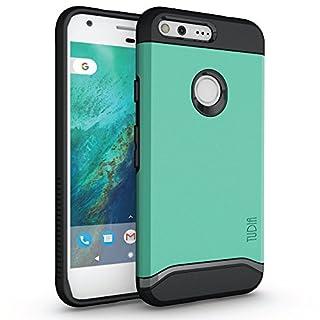 TUDIA Merge Designed for Google Pixel XL Case, Dual Layer Phone Cover Case for Google Pixel XL (Mint)