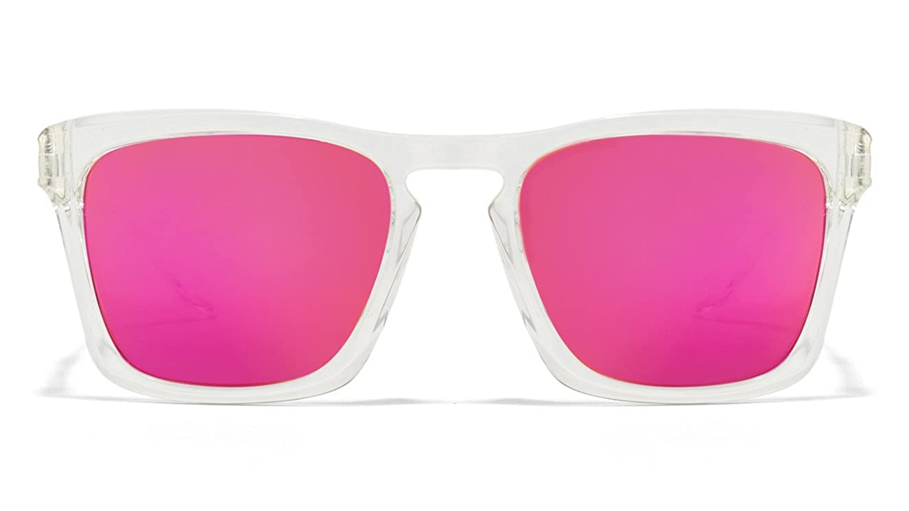 92c4be0fd2 Vincent Chase NOMADES VC S10123 Transparent Pink C3 Wayfarer Sunglasses   Amazon.in  Clothing   Accessories