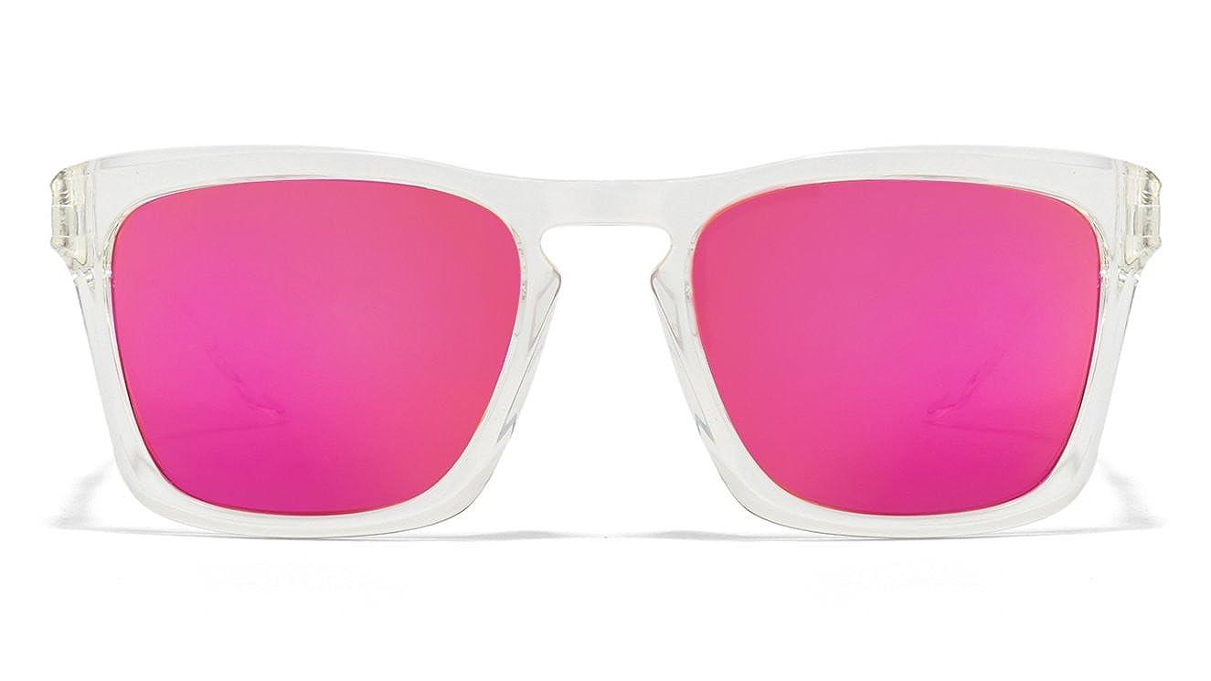 e5e6747274 Vincent Chase NOMADES VC S10123 Transparent Pink C3 Wayfarer Sunglasses   Amazon.in  Clothing   Accessories
