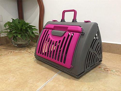 DESESHENME Pequeña Mascota para Perros Bolsa de Viaje de Gatos Plegable Jaula de transportador Caja Plegable Bolso de Mano Herramientas de Potable, ...
