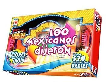 Amazon Com 100 Mexicanos Dijeron Board Game Spanish Edition Toys