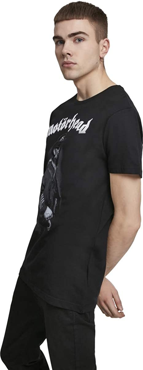 Mot/örhead Everything Louder T-Shirt Manches Courtes Blanc//Noir