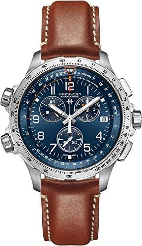 ساعت مچی مردانه همیلتون مدل H77922541 با بند چرمی