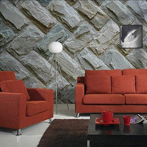 Bosakp バーの家の装飾壁画紙レンガ壁の壁壁紙壁画ステッカーリビングルーム3D 360X250Cm