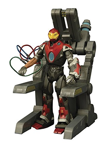 Diamond Select Toys Marvel Select: Ultimate Iron Man Action Figure]()