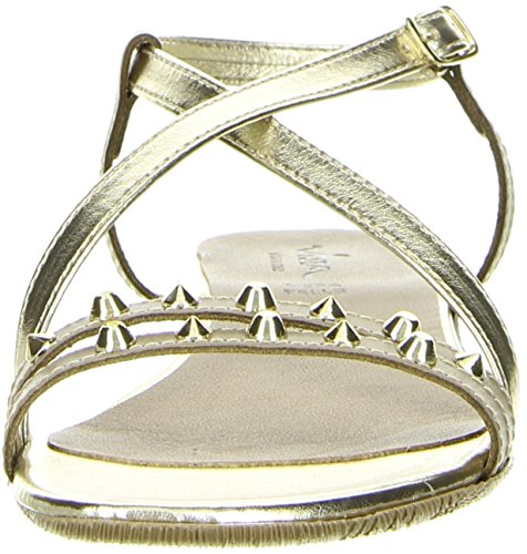 Vista Damen Sandaletten Nieten gold Gold