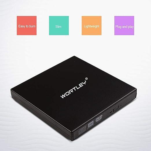 LZXG Quemador de DVD Externa móvil del USB CD Unidad óptica Caja ...