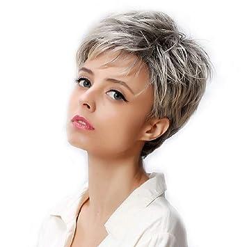 Coupes de cheveux courtes pour femmes obliques