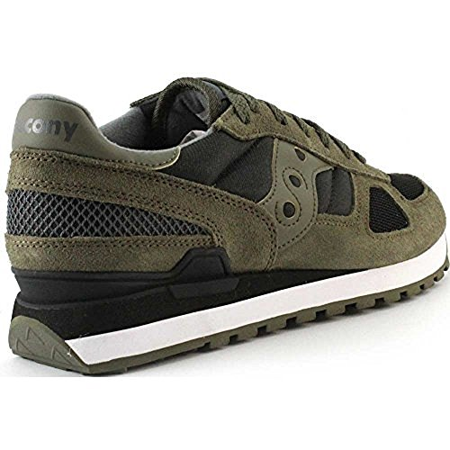 Original Black Olive Saucony Basses Shadow Baskets Noir Homme RHazAq5w