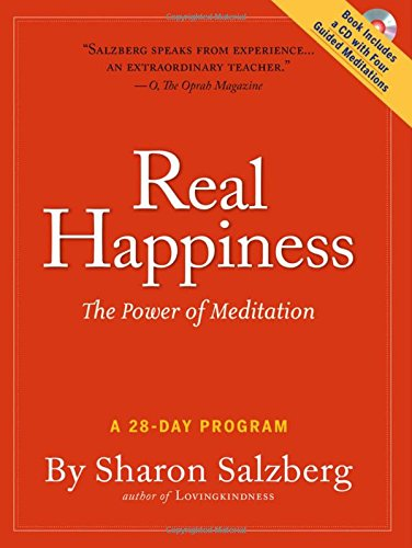 Cover of Real Happiness: The Power of Meditation: A 28-Day Program