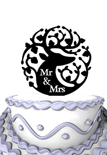 Image Unavailable Not Available For Color Meijiafei Hunting Cake Topper Happy Birthday