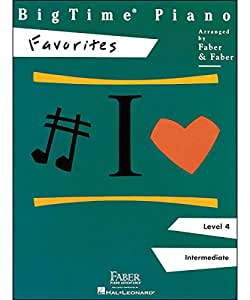 BigTime Piano: Favorites - Partituras