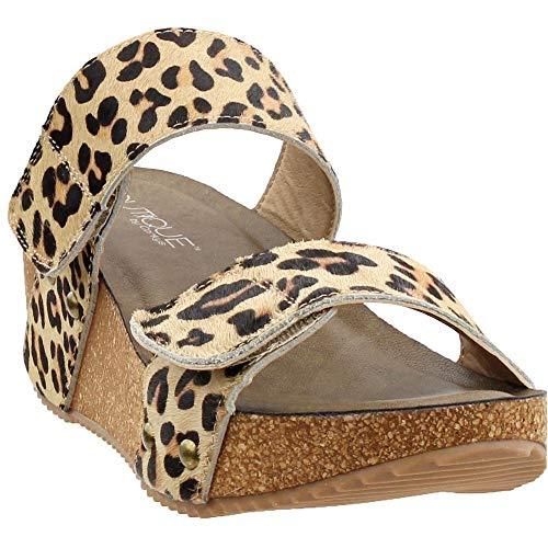 Corkys Wild Thing Women's Sandal 9 B(M) US Leopard