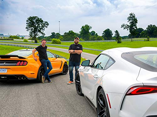 2019 Ford Mustang Shelby GT350 vs. 2020 Toyota GZ Supra-Southern Fried Road Trip for Sports Car Superiority! (Toyota Head Supra)