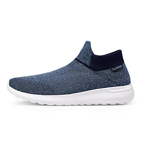 amp;Womens Cotton Indoor Man Slip Anti amp;Outdoor BlanKey Warm Slippers Winter Dark Blue Slippers Cashmere qTAxzd5