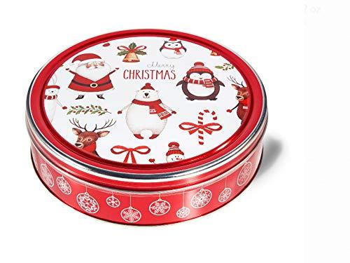 Christmas Holiday Butter Cookies Tin (Merry Christmas)