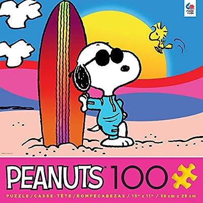 Peanuts - Malibu Puzzle - 100 Pieces: Toys & Games