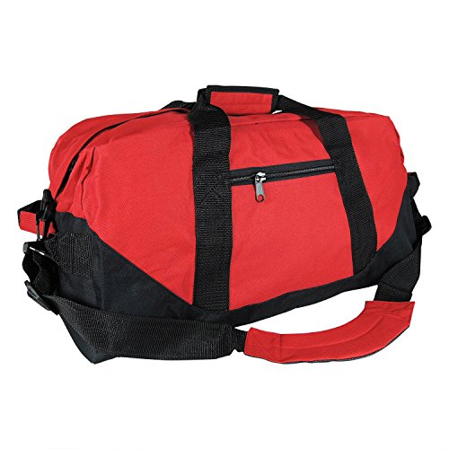 "21"" Large Duffle Bag in Red"