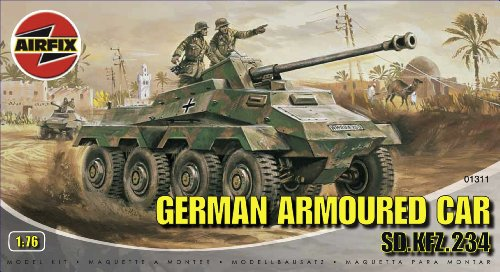 Airfix - A01311 - Construction et Maquettes - Bâtiment - German Armoured Car