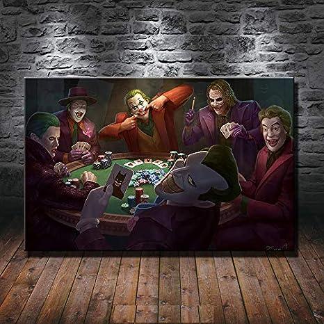 Canvas Wall Art  Showcasing The Joker Party