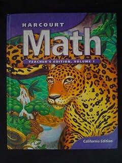 Amazon harcourt math practice workbook teachers edition grade harcourt math grade 6 teachers edition volume 1 fandeluxe Choice Image