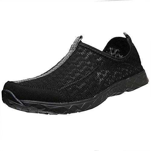 Pour Sans Lacets D'eau Aleader Chaussures Noir8521a Femme c7CxqFE