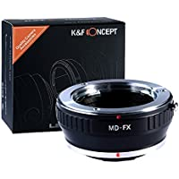 K&F Concept AFMD Minolta MD MC Rokkor Lens to Fujifilm FX Mount Camera Adapter